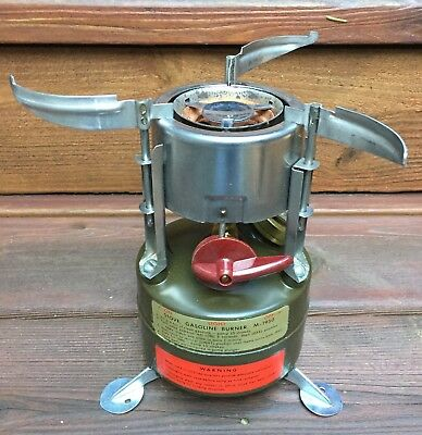 Coleman 536 M1950 Military Stove Mint Unfired w/ Original Box and Papers