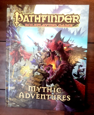 Pathfinder Roleplaying Game Mythic Adventures Hardback Roleplaying Book