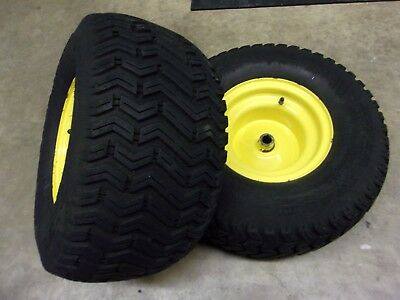 John Deere STX38 Rear rims, and tires for Black Deck Models
