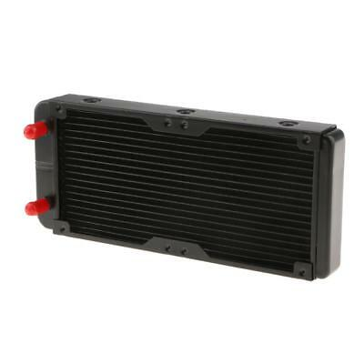 240mm 18 Tubes High Performance Radiator Water Cooling Computer Aluminum