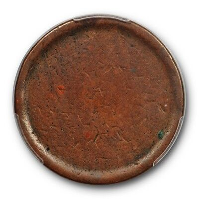 No Date Blank Large Cent T-2 Planchet 159 Grams Mint Error US Coin PCGS XF 45