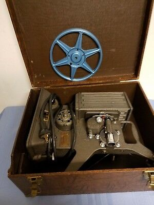 Vintage Keystone 8 mm Projector ~ Model R-8