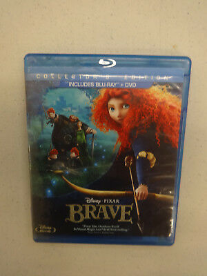 Brave (Blu-ray/DVD, 2012, 3-Disc Set, Collectors Edition), Used