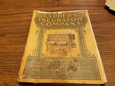 1909 Cyphers Incubator Company Catalog 220 pages.Poultry Chickens