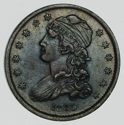 1835 Capped Bust Quarter- Near Uncirculated *2364