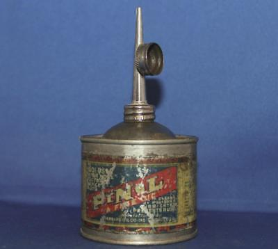 Antique Vintage Standard Oil Company PINOL Fine Oil Lubricant Can