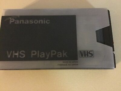 Panasonic VHS PlayPak VYMS0064 Cassette Adapter Motorized VHS-C to VHS.