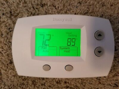 Honeywell TH5220D1003 Electronic Low Voltage Wall Thermostat FOCUS PRO 5000