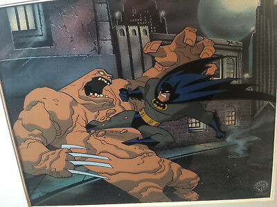 """BATMAN: The Animated Series Production Cel""""Feat Of Clay"""" pt.1 Limited #366/500!"""