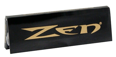 Zen black Rolling Paper 1/4 50 papers