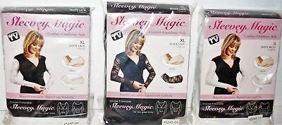 Sleevey Magic Womens Arm Toning Garment ,Arm Slimmer Size: S - M - L - XL- XXL