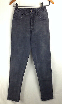 Women's Vintage Guess Black Denim High Wasited Slim Fit Jeans Sz 2 / 25w USA