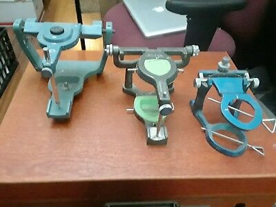 Dental Articulators, Dentronics 15Lw, Shofu And Ted