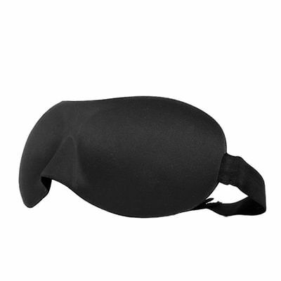 Good quality 2 x 3D Eye Mask Sleeping Soft Cover Shade Plane Blindfold