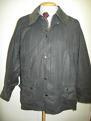 """Barbour Bedale Waxed jacket - L 46"""" Euro 56 in Blue"""