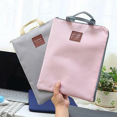 A4 OxfordCloth File Folder Bag Office Supplies Zipper Organizer Bag Document new