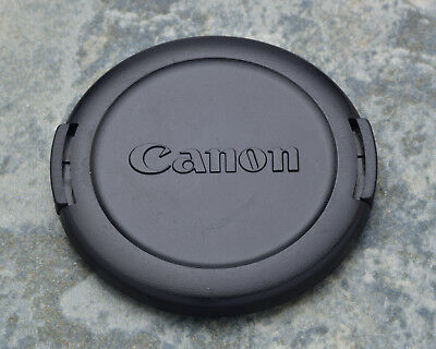 Canon EOS E 58mm Snap-On Front Lens Cap 18-55 55-250 75-300 100 50/1.4 (#1444)
