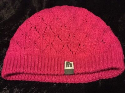 The North Face Shinto Beanie  Youth/Junior Dynasty Hot Pink