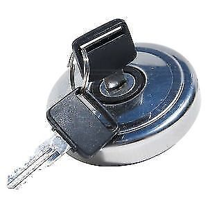 Locking Fuel Cap - Stainless Steel - Classic Mini - Mountney - MLPC