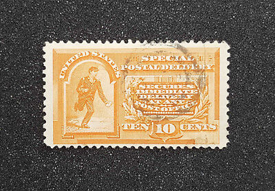USA 1893, gestempelt, inkl. Michel-Nr. 72 (Special Delivery)