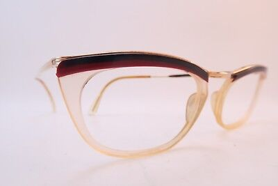 Vintage 50s eyeglasses frames gold filled Doublé Or Laminé FESTIVAL France