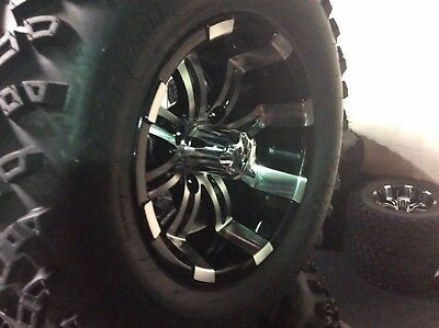 Custom Golf Cart  wheels  With Custom Rims fits E-Z-GO Club Car Yamaha Need Lift