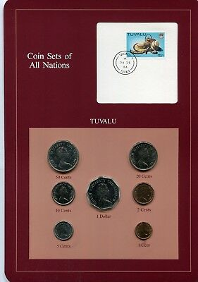 franklin mint coin sets of all nations tuvalu