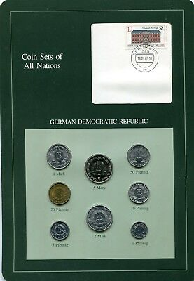 coin sets of all nation east germany