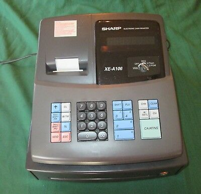 Sharp SMALL BUSINESS cash register XE-A106