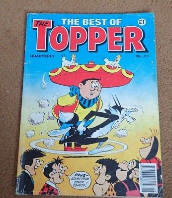 The best of Topper comic no 21