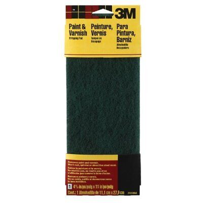 "3M 7413NA Hand Sanding Stripping Pad, 4-3/8"" x 11"", Coarse Grit, Green"