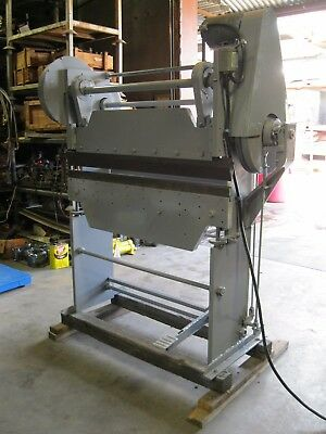 Haggard 15 Ton 48-16 Press Brake 1.5 HP 3 PH 208-220/440V (A4816)