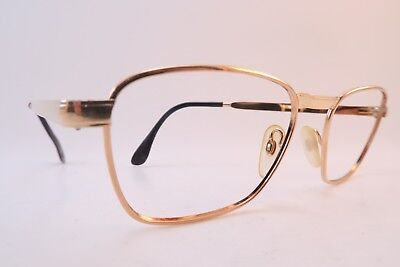 Vintage 60s eyeglasses frames gold filled Doublé Or Laminé made in France EXC