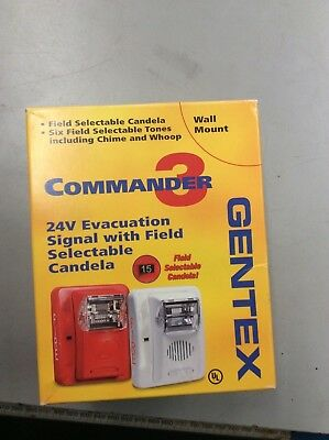 Strobe Light for fire alarm Gentex Commander 3