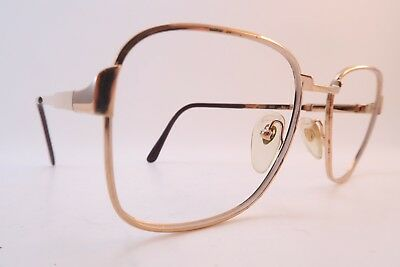 Vintage 70s eyeglasses frames L'AMY gold filled Mod ELITE size 52-23 France