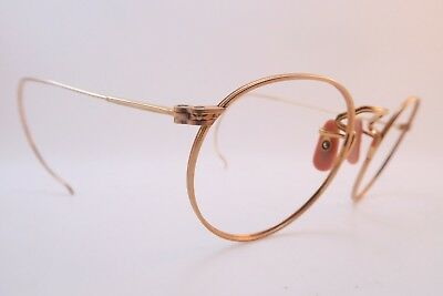 Vintage 40s gold filled American Optical eyeglasses frames 1/10 12K USA EXC ****