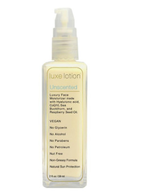 New Luxebeauty Luxe Lotion Luxury Face Unscented Sunburn Protection Skin Care