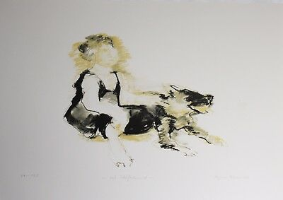 Lithografie Regine HERMS