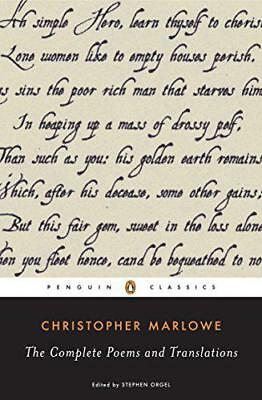 Complete Poems and Translations (Penguin Classics) by Christopher Marlowe | Pape