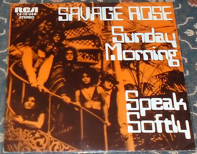"Savage Rose : Sunday Morning,RCA,Prog.-Rock,7"",im Bildcover"