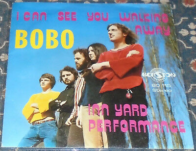 "Bobo : I can see you walking away,Kerston,deutscher Beat,7"",im Bildcover"