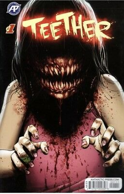Teether #1 Horror Creepy Cover Antarctic Press Comics Hard To Find Issue L@@K