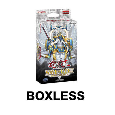 BOXLESS YuGiOh Wave of Light English Structure Deck 1st Edition Box Brand New