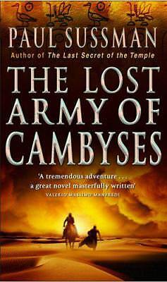 The Lost Army Of Cambyses by Paul Sussman | Paperback Book | 9780553818031 | NEW