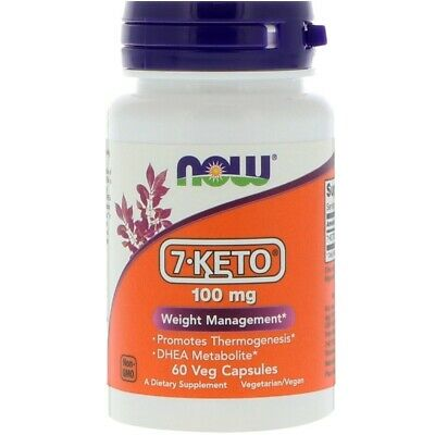NOW Foods 7-Keto® 100 mg - 60 Veg Capsules