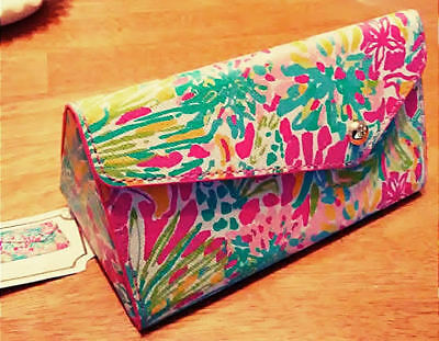 """Lilly Pulitzer Sunglass Case in """"Spot Ya"""" NEW FREE SHIPPING"""