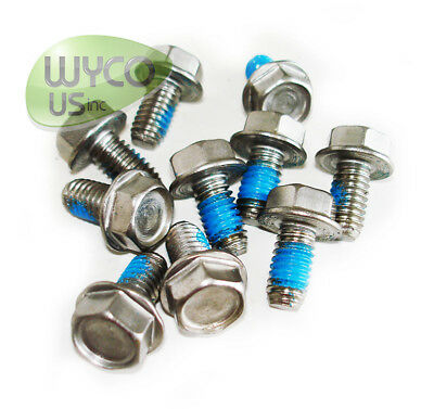 10 Hex Screws, .31-18X0.62,tennant Speed Scrub 2401, 2601, 2701 Scrubbers,140226
