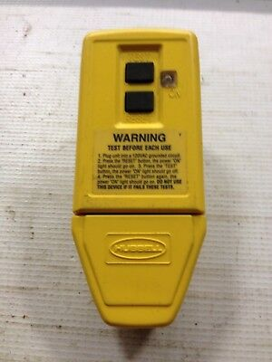 Hubbell Plug in GFCI GFP5266CYGround fault Circuit Breaker Circuit Guard Series