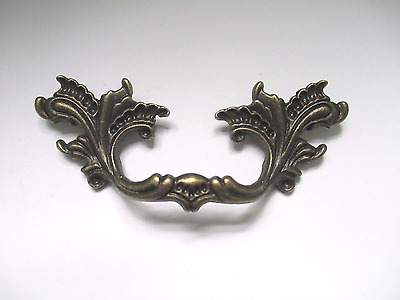 "2.5"" Center French Provincial drawer pulls Shabby Chic handle metal 2 1/2"" CC"
