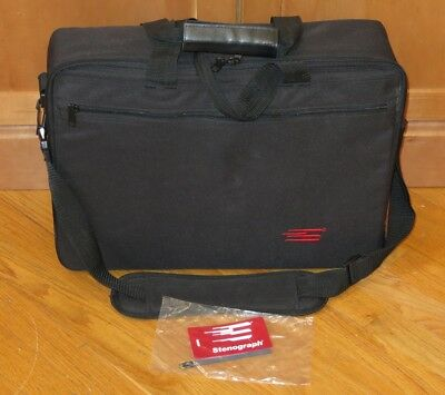Stenograph Travel Storage Carrying Case/Bag for Steno Writer Machines